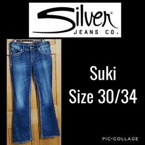 Silver Suki Jeans Size 30/34